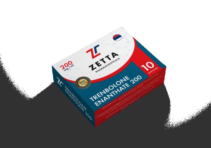 Zetta trenbolone E 200mg/ml - цена за 1 ампулу