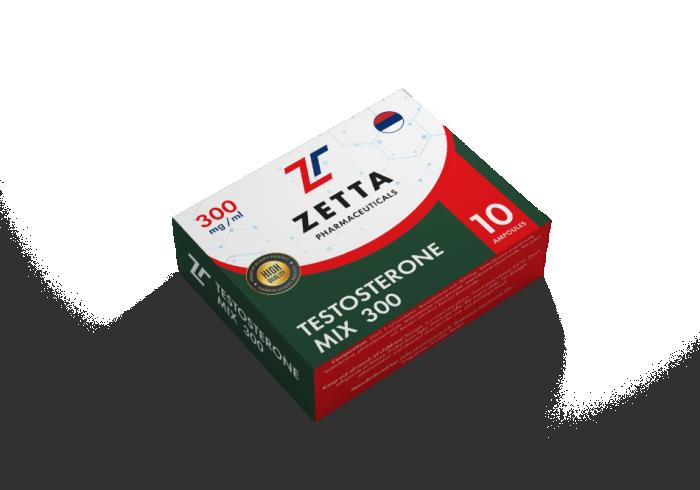 Zetta testosterone Mix 300mg/ml - цена за 1 ампулу