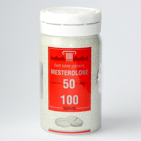 Mesterolone 50mg/tab (Провирон) - Цена за 100т таб.