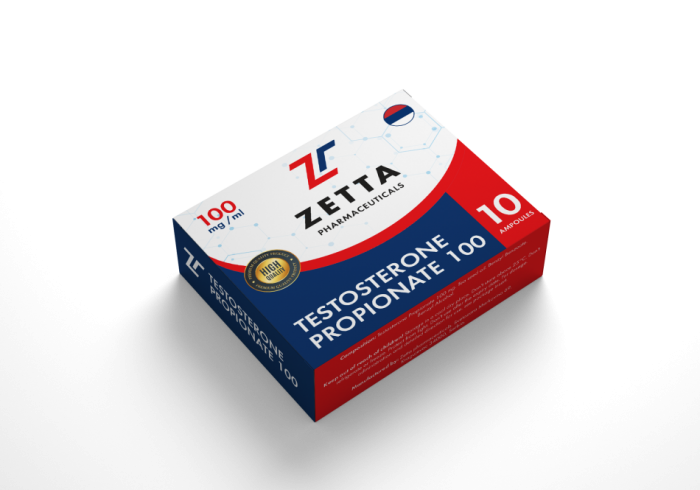 Zetta testosterone P 100mg/ml - цена за 1 ампулу