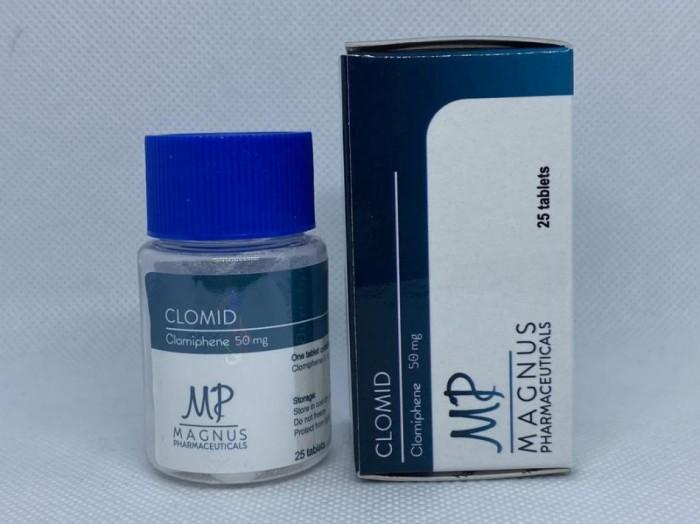 Clomid Magnus 50mg/tab - цена за 25таб